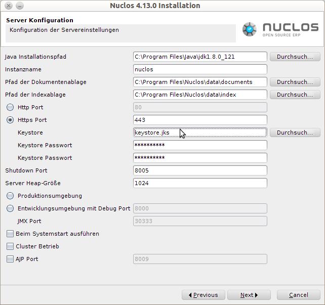 SSL-Verschlüsselung - Installation und Wartung - Nuclos Wiki